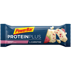 PowerBar Protein Plus L-Carnitine Bar Sacoche 30x35g, Raspberry-Yoghurt